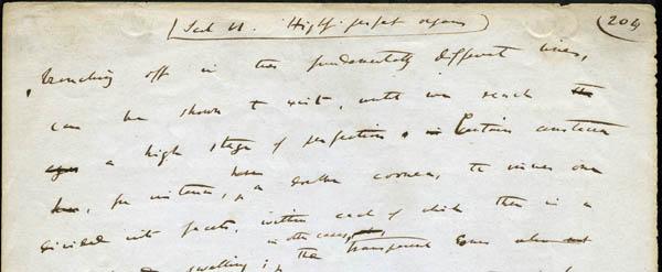 Origin manuscript