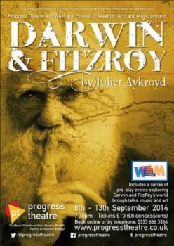 Darwin & Fitzroy play poster