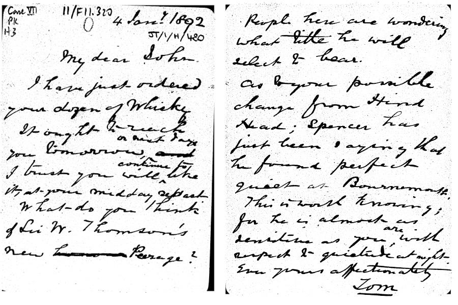 Hirst letter