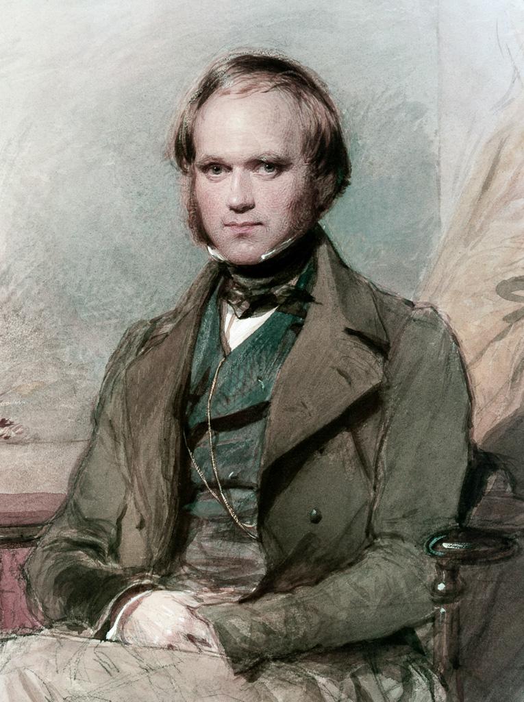 Charles Darwin, 1840.