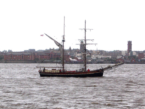 Tall Ship, River Mersey